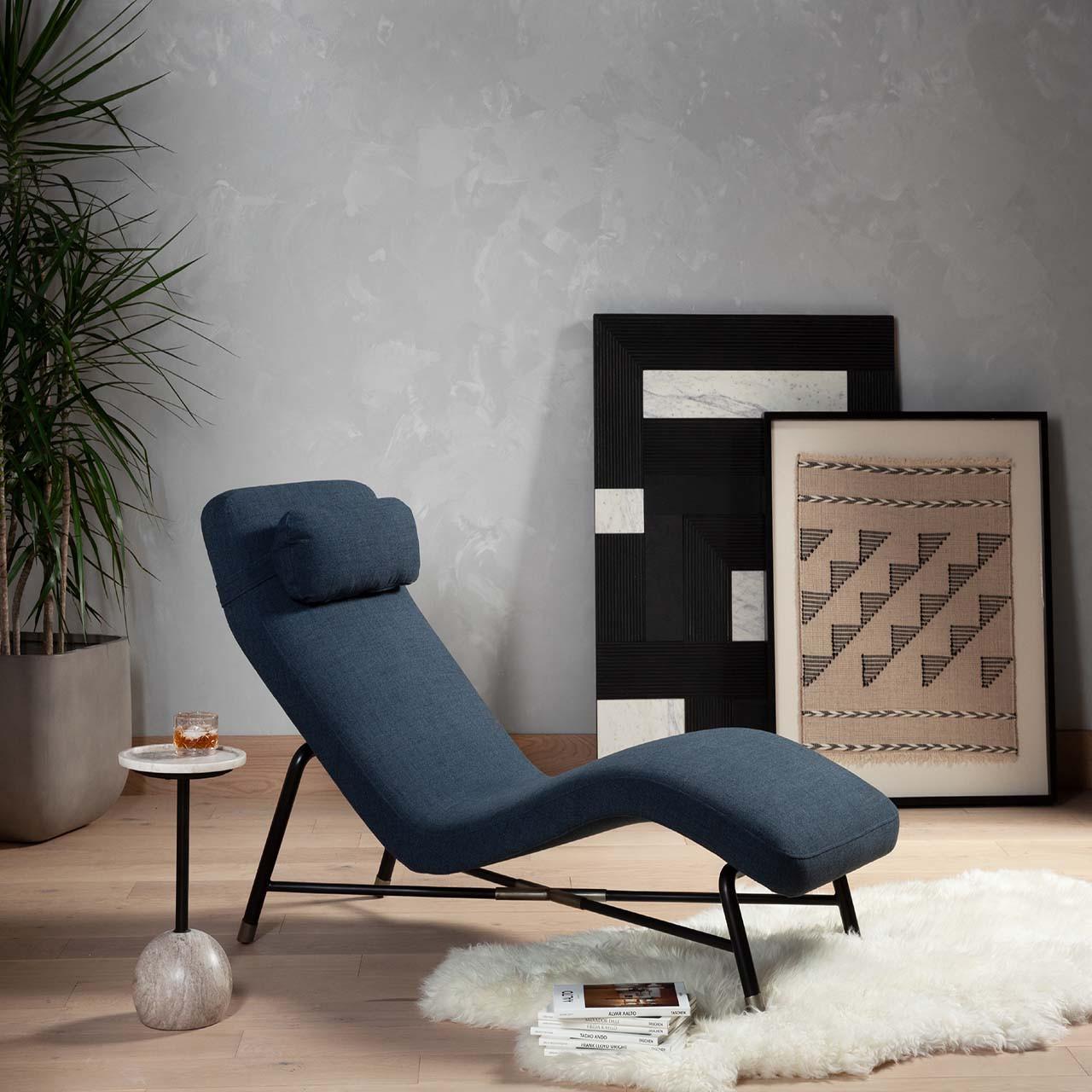 Denley Chaise Lounge - Highland Sky