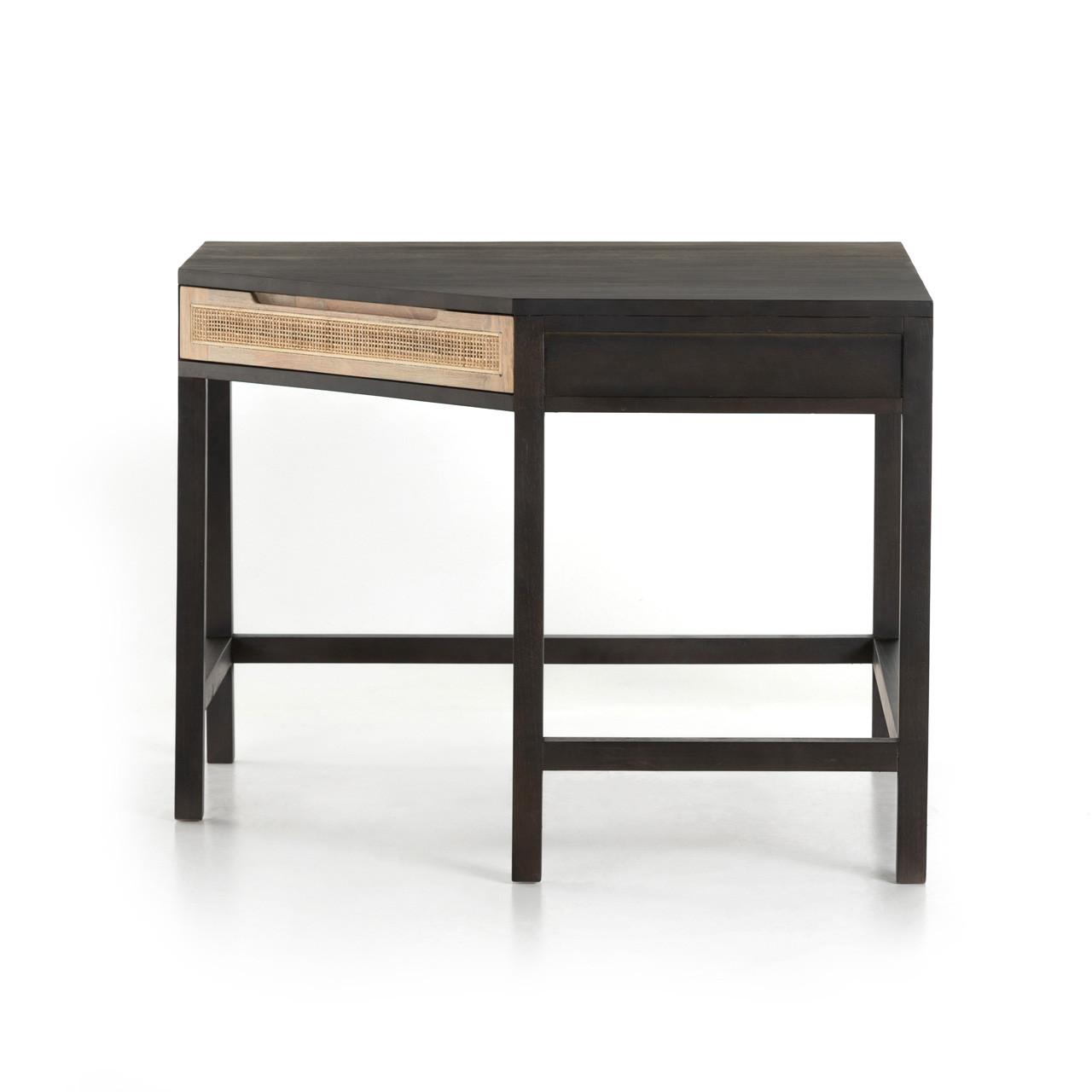 Brisbane Cane Modular Corner Desk