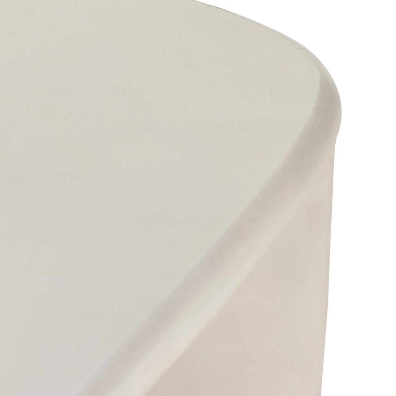 Dea Coffee Table - White Concrete