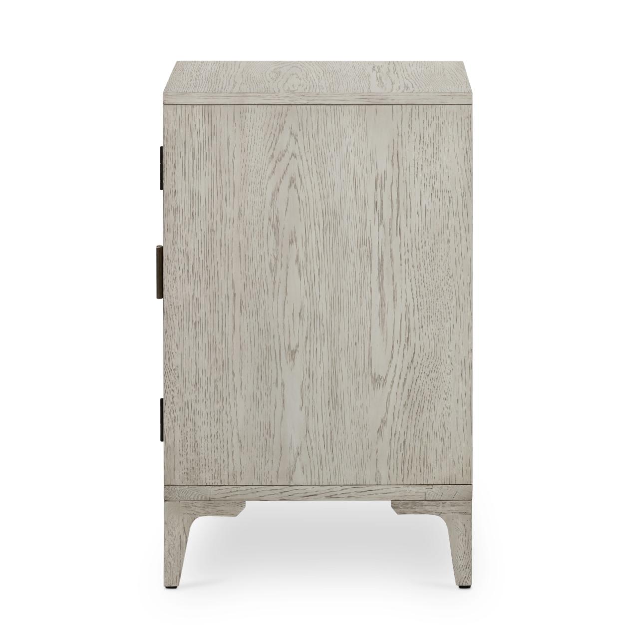Vienna Cabinet Nightstand - Vintage White Oak