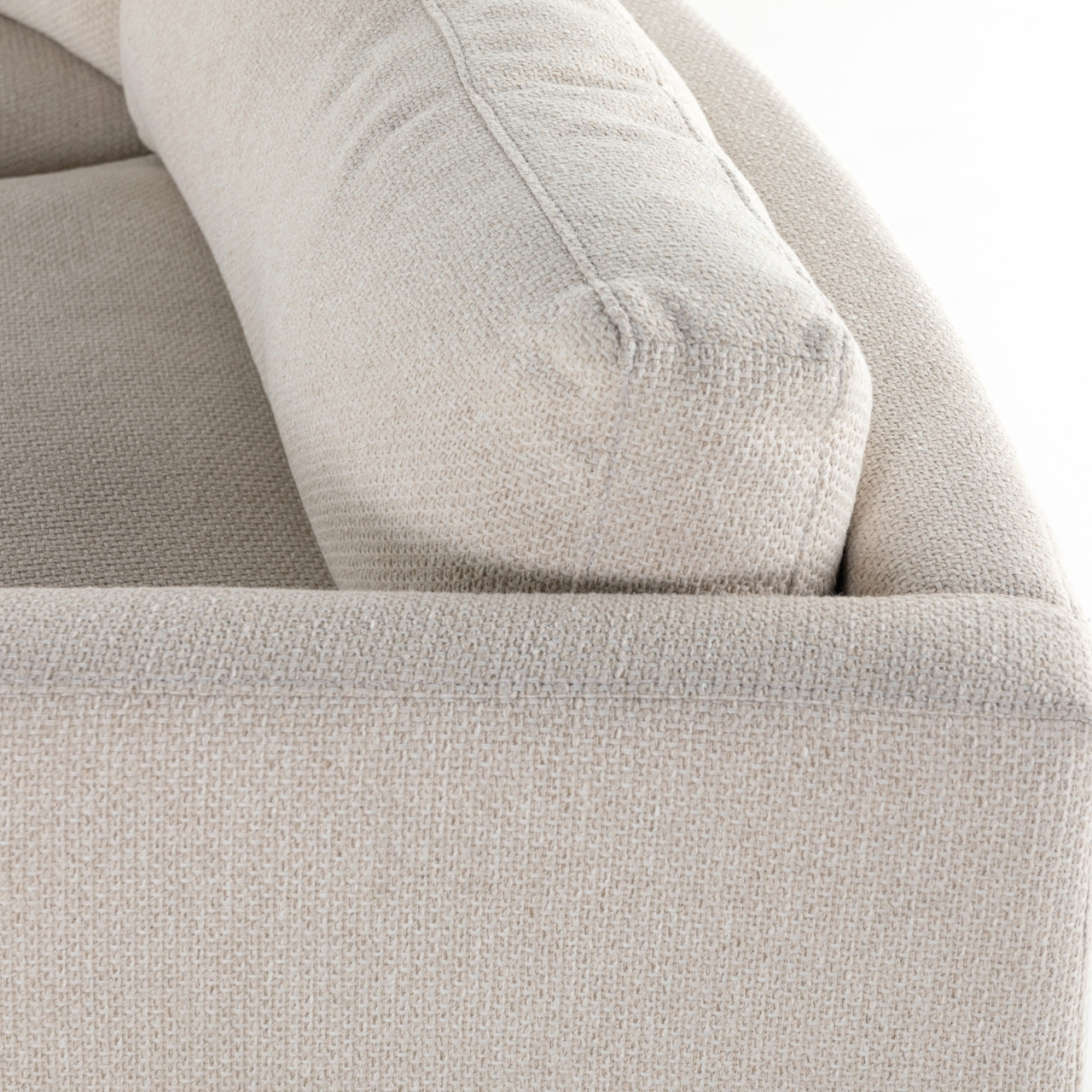 Hillers 3-pc Sectional - Tacoma Ivory