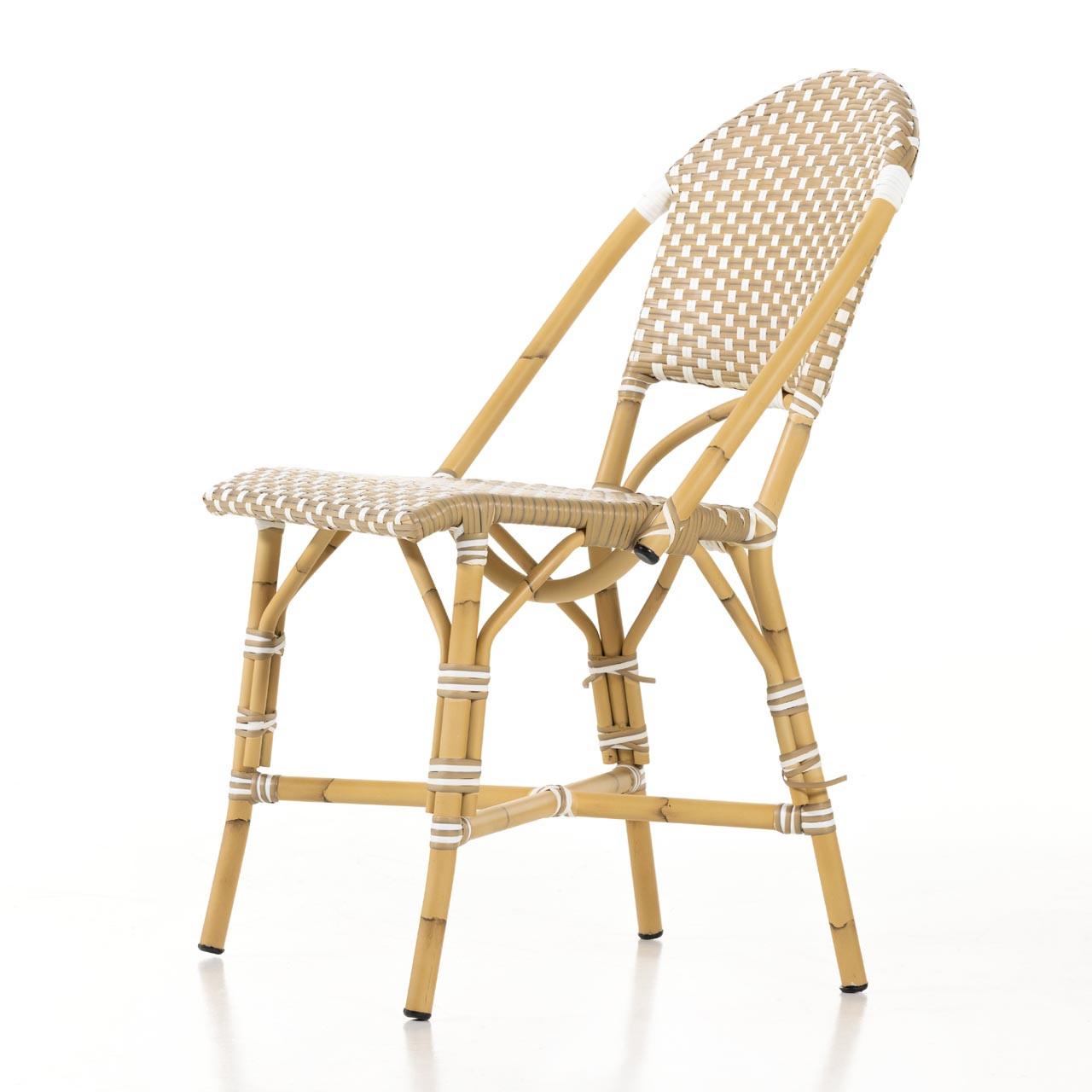 Derwen Outdoor Dining Chair - Faux Rattan