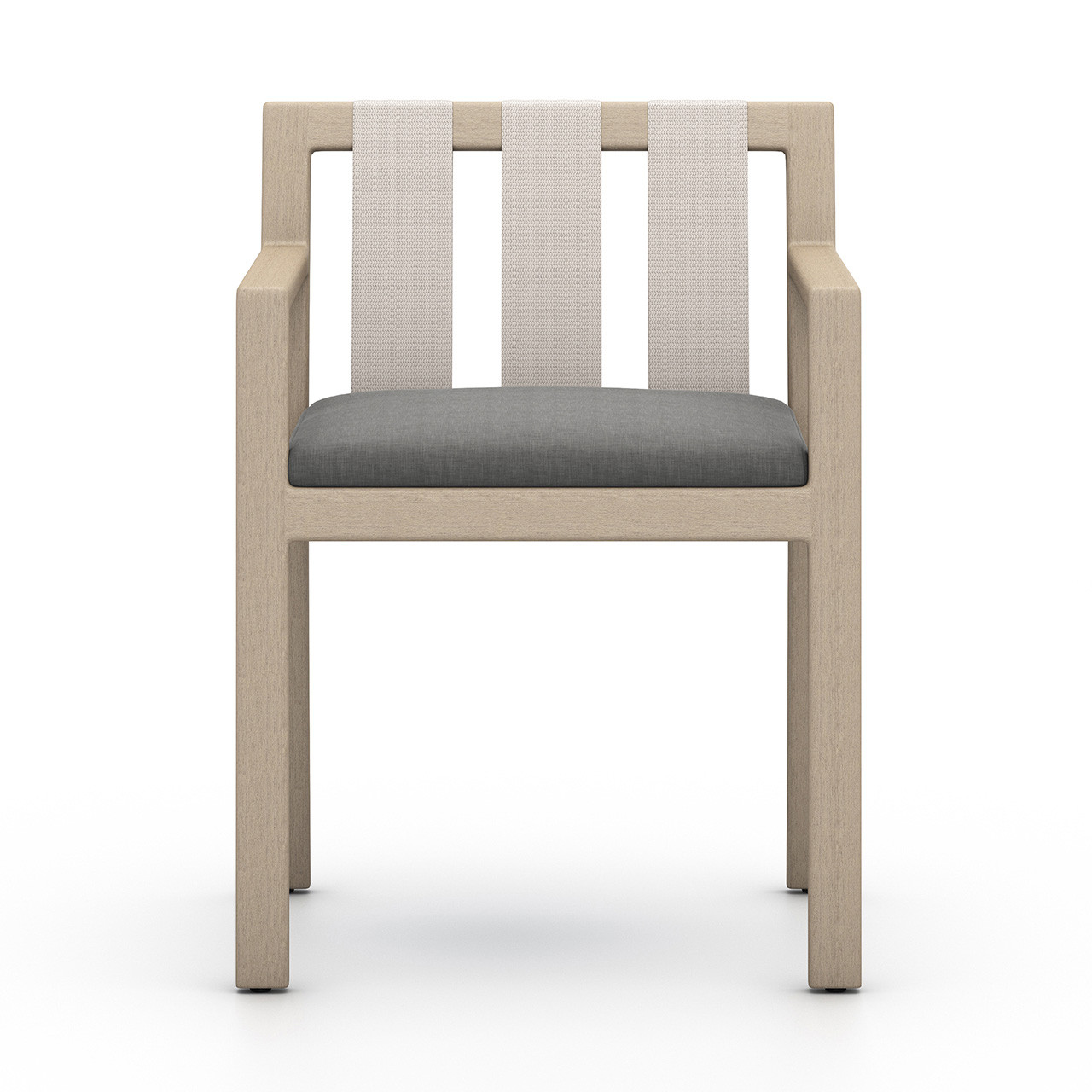 Oceanside Outdoor Dining Armchair, Washed Brown
