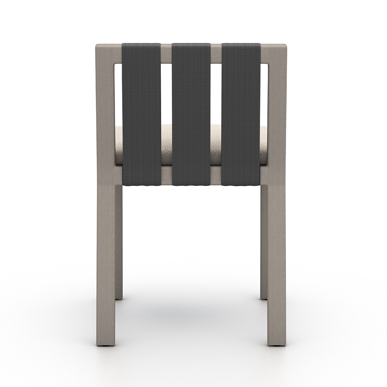 Oceanside Outdoor Dining Chair, Weathered Grey