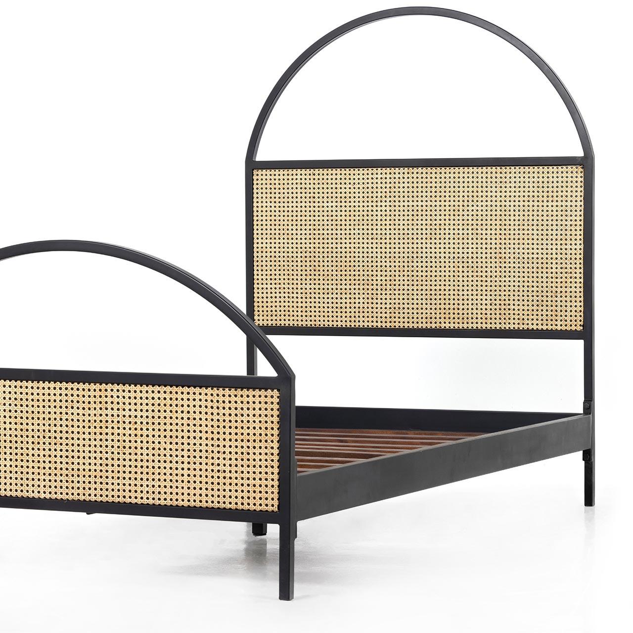 Lewes Cane Iron Bed
