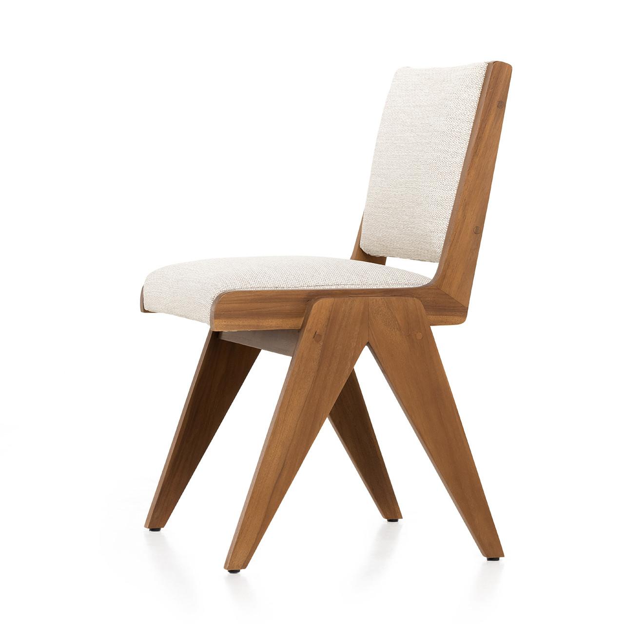 Preston Outdoor Dining Chair - Natural Teak