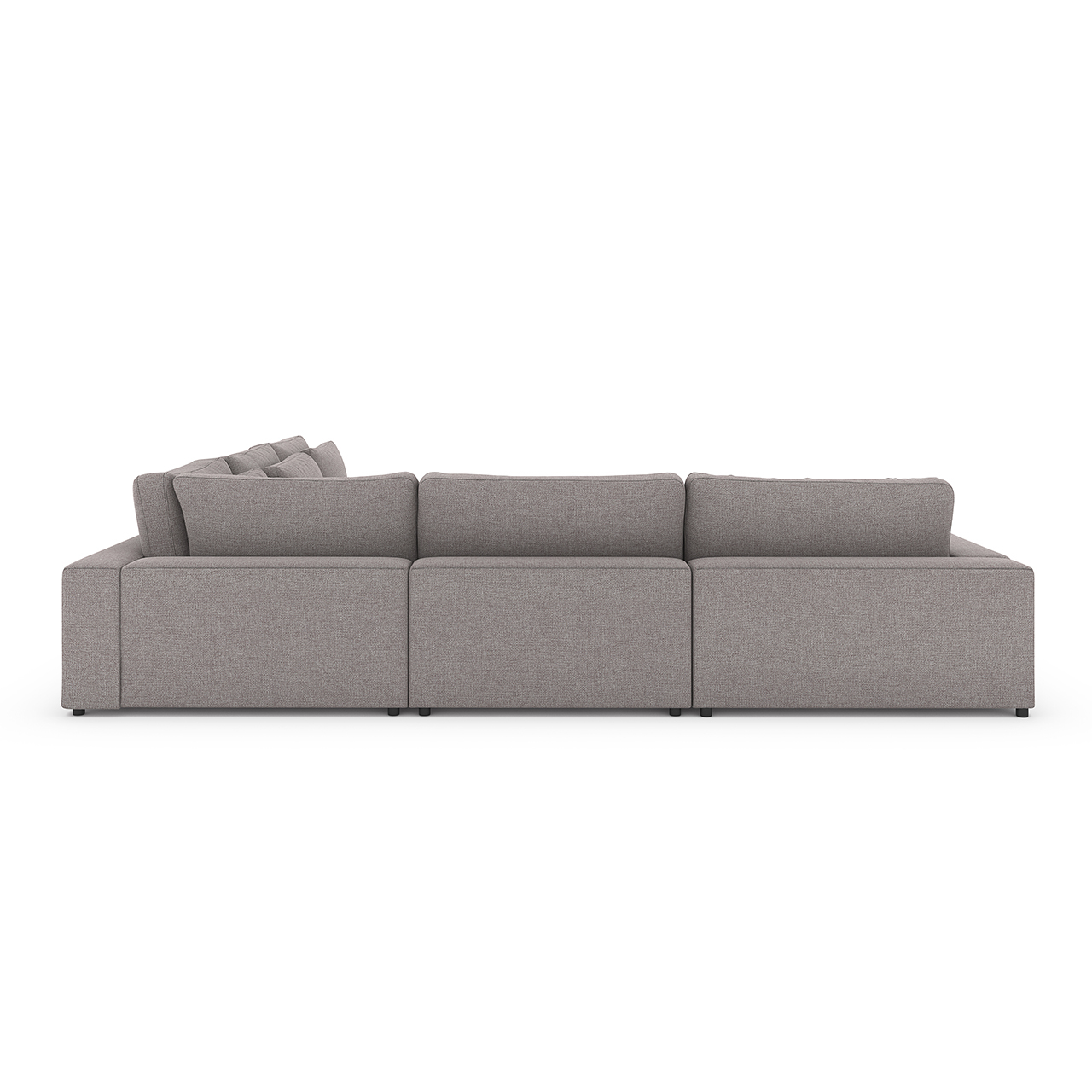 Arlo 4-Pc Sectional w/ Bumper Chaise