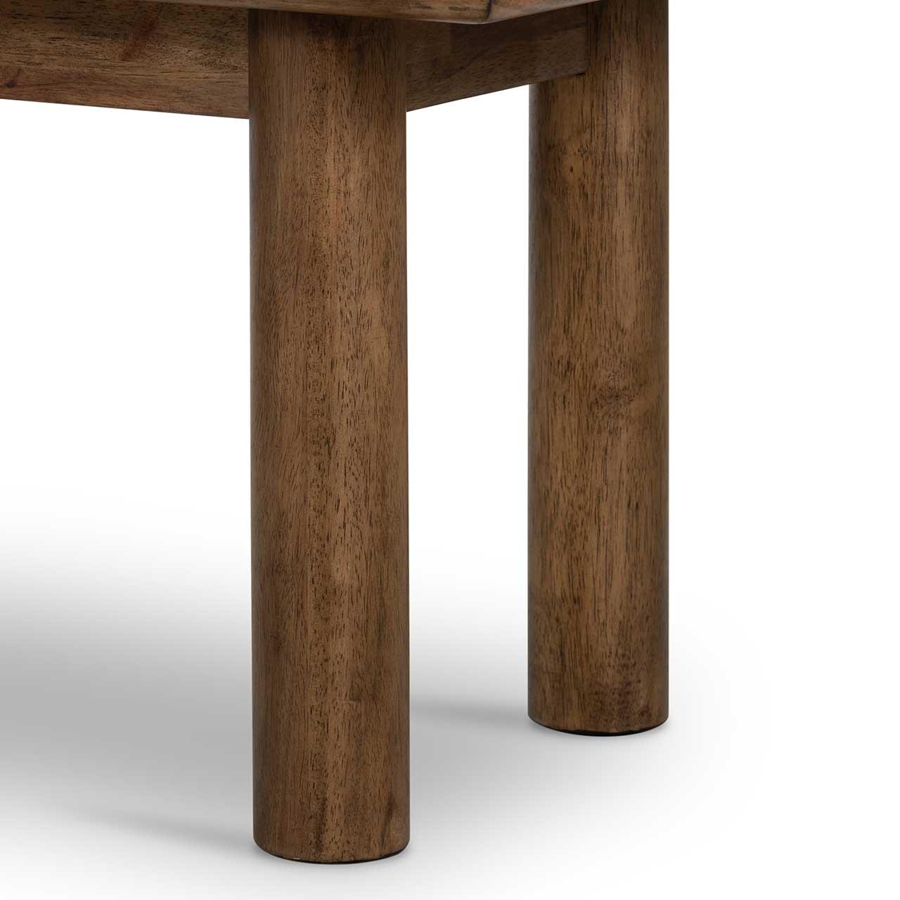 Mandy Upholstered  Bench - Natural