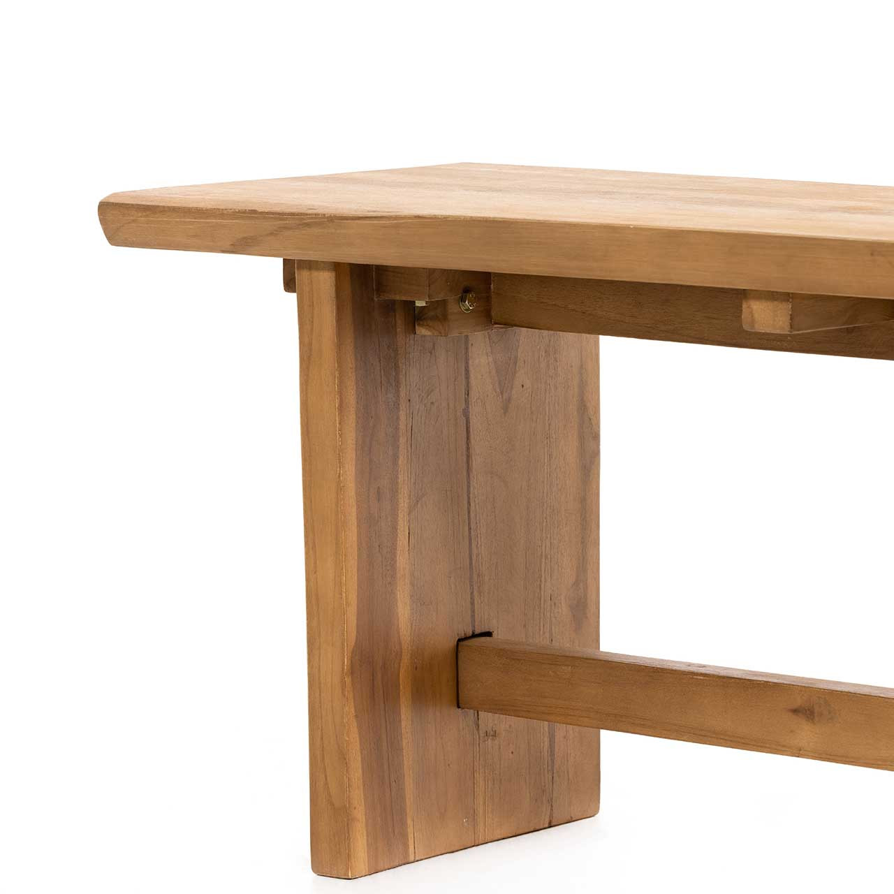 Whyeth Outdoor Bench - Natural Teak
