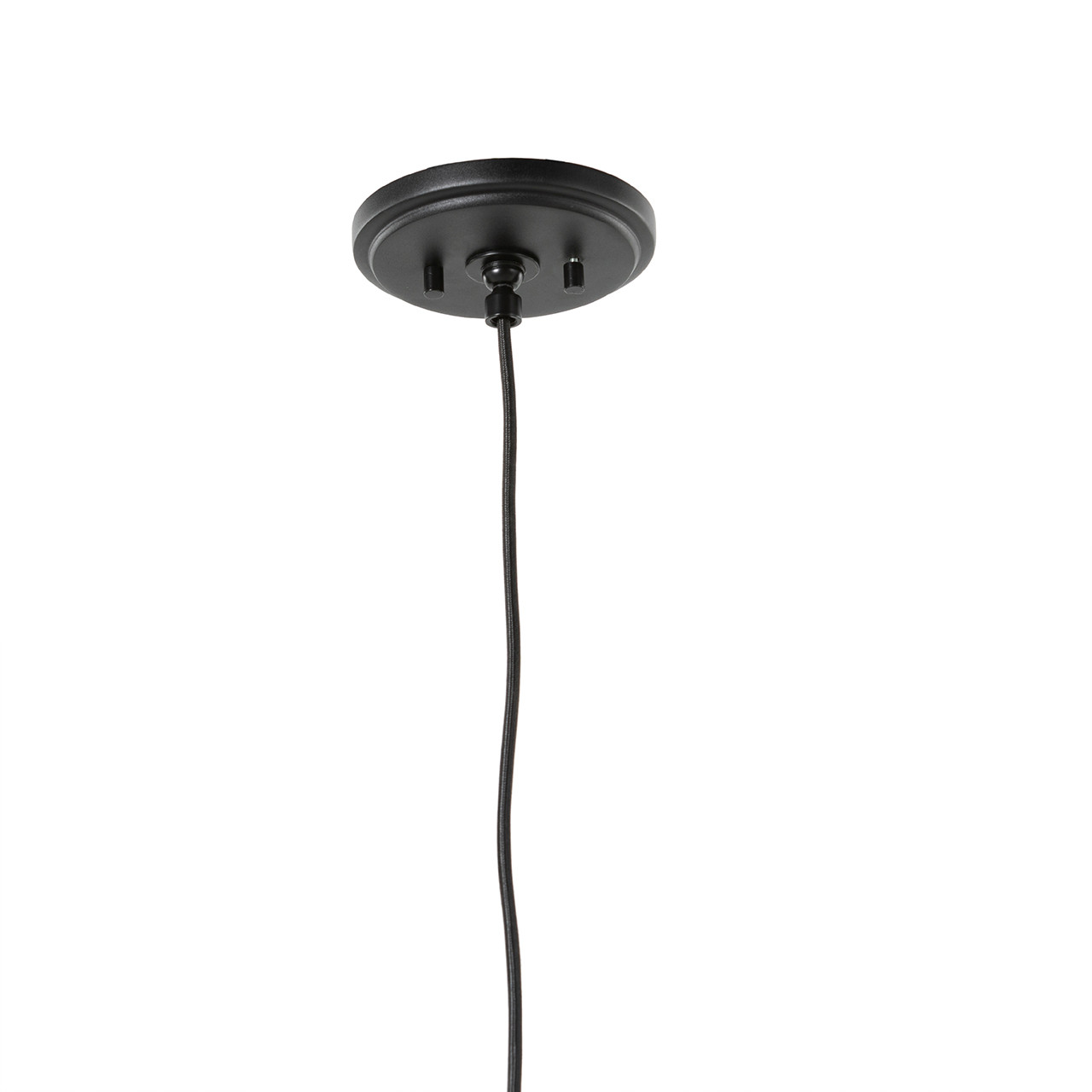 Whynn Pendant - Powder Coated Black & White