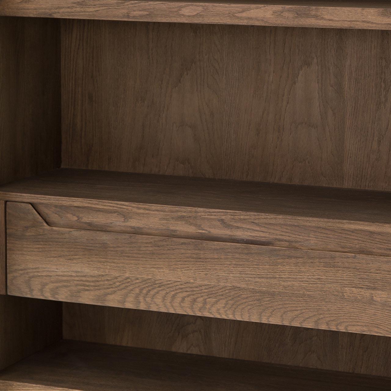 Miles Cabinet - Matte Black Oak