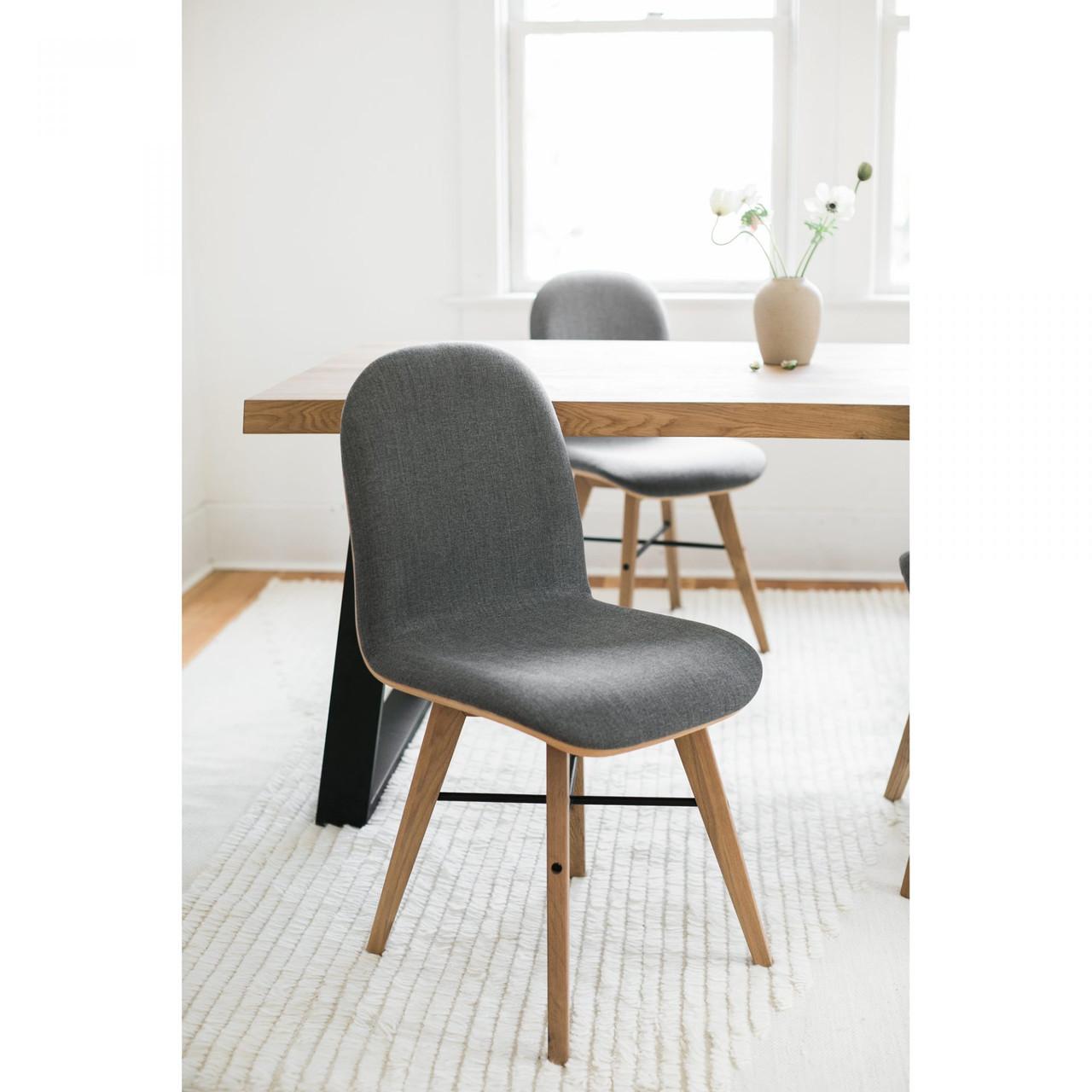 Naomie Dining Chair Grey - M2