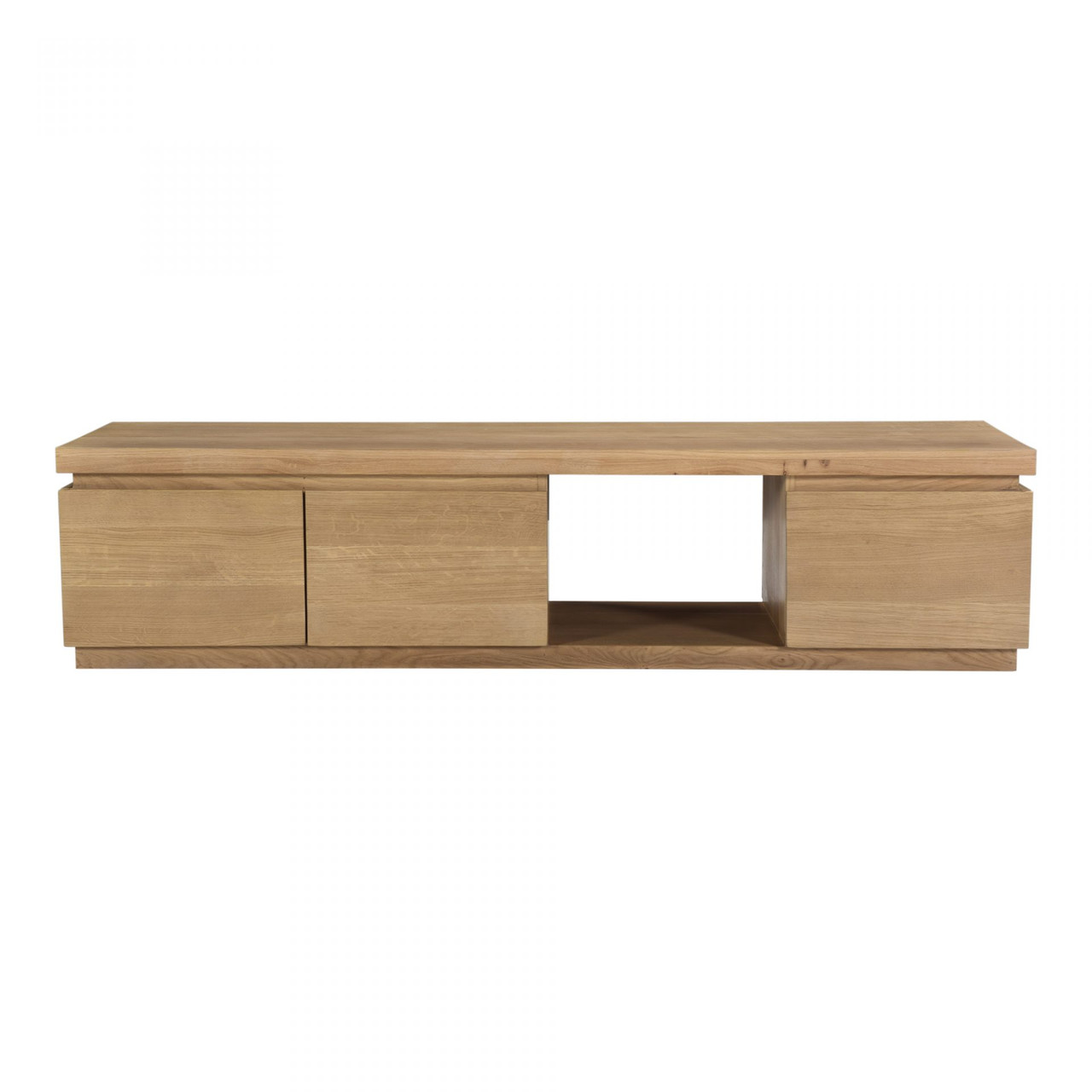 Arie Solid Oak Media Cabinet