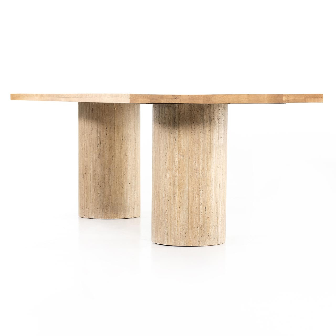 Street Dining Table - Natural Oak