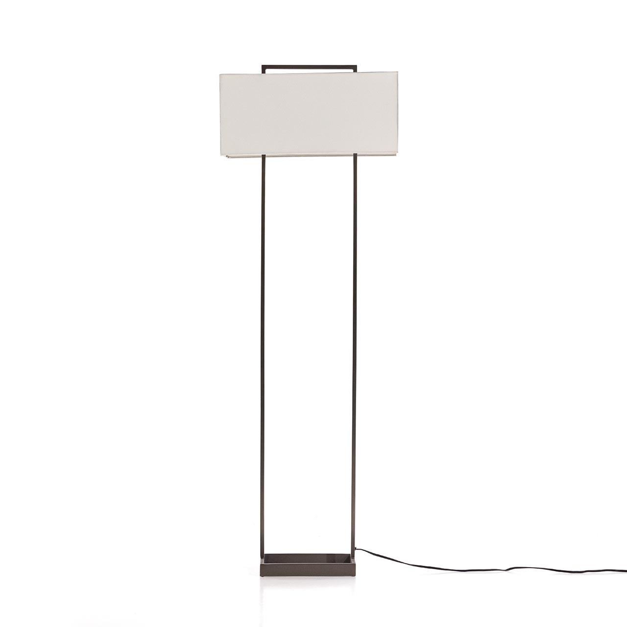 Ade Floor Lamp - Dark Pewter