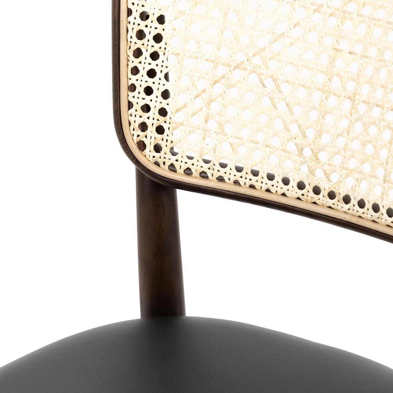 Bei Dining Chair - Noir