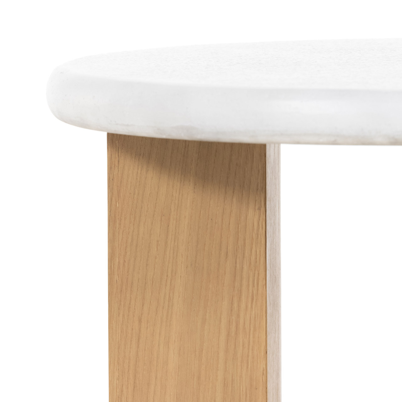 Arte Nightstand - Stucco White