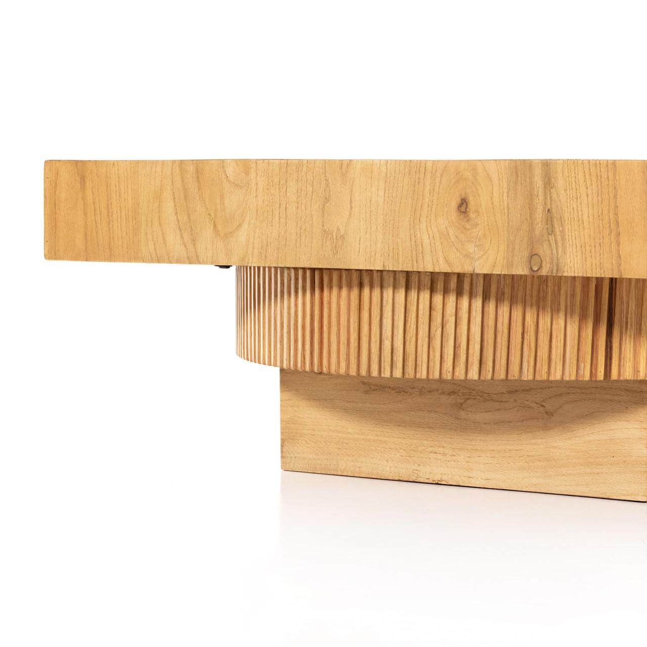 Leo Coffee Table - Honey Oak