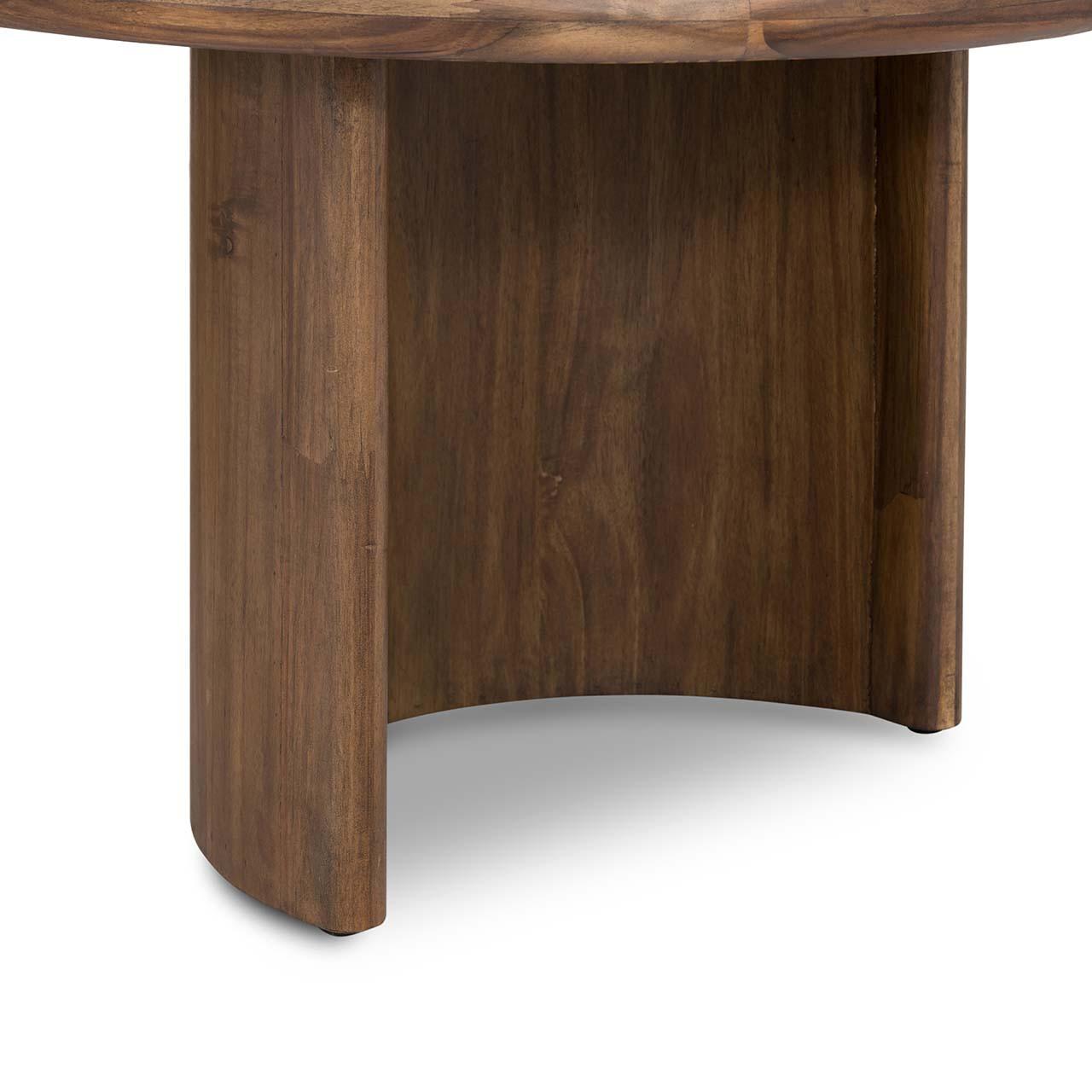 Gloder Coffee Table - Seasoned Brown Acacia