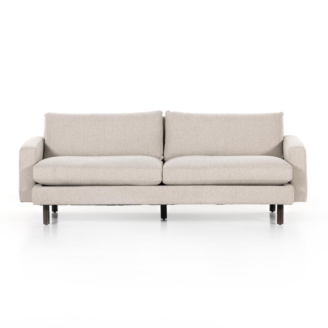 """Piller Sofa - 88"""" - Fallon Linen"""