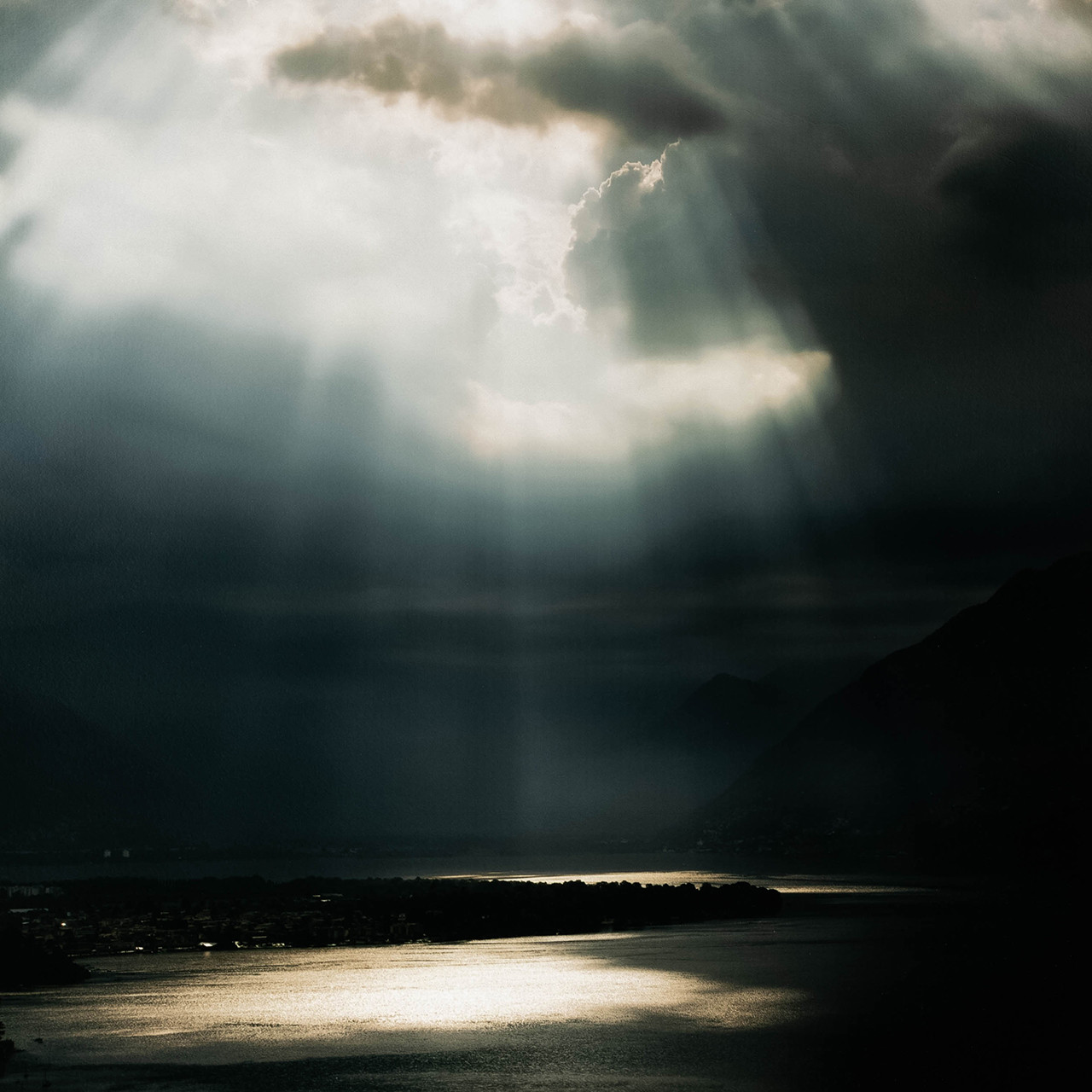 Sky Over Lago Maggiore By Getty Images