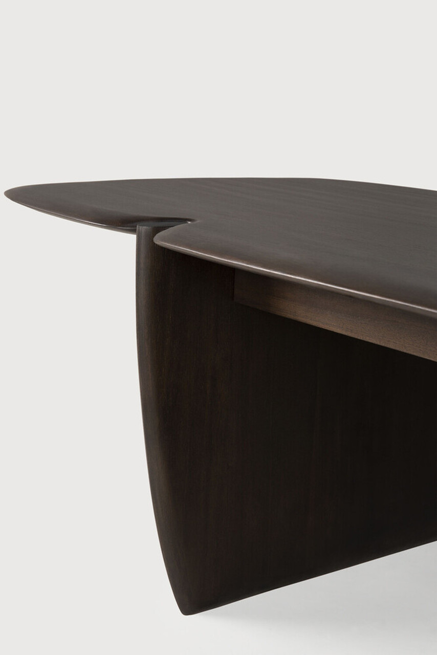 Mahogany Pi Dark Brown Coffee Table