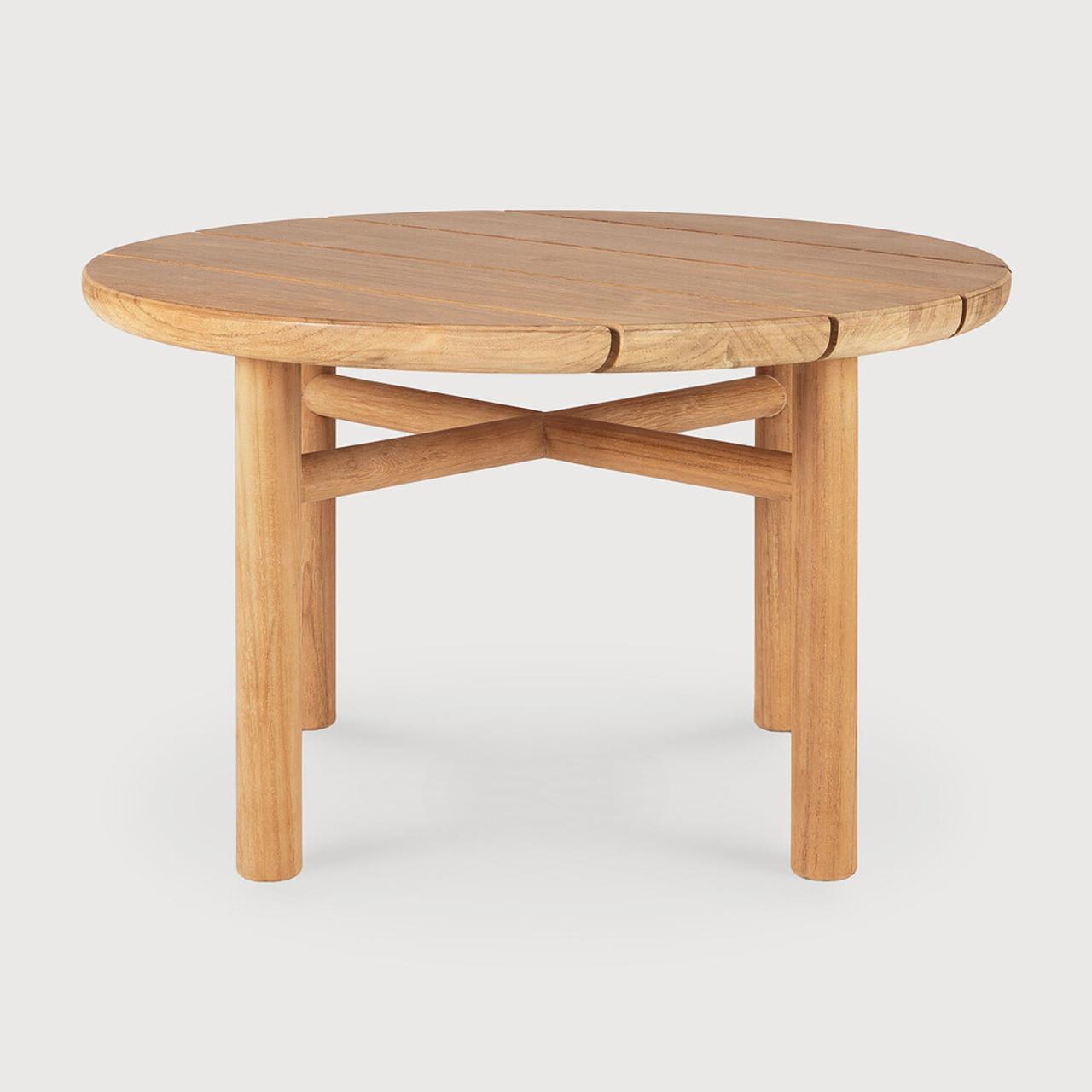 Teak Quatro Outdoor Side Table