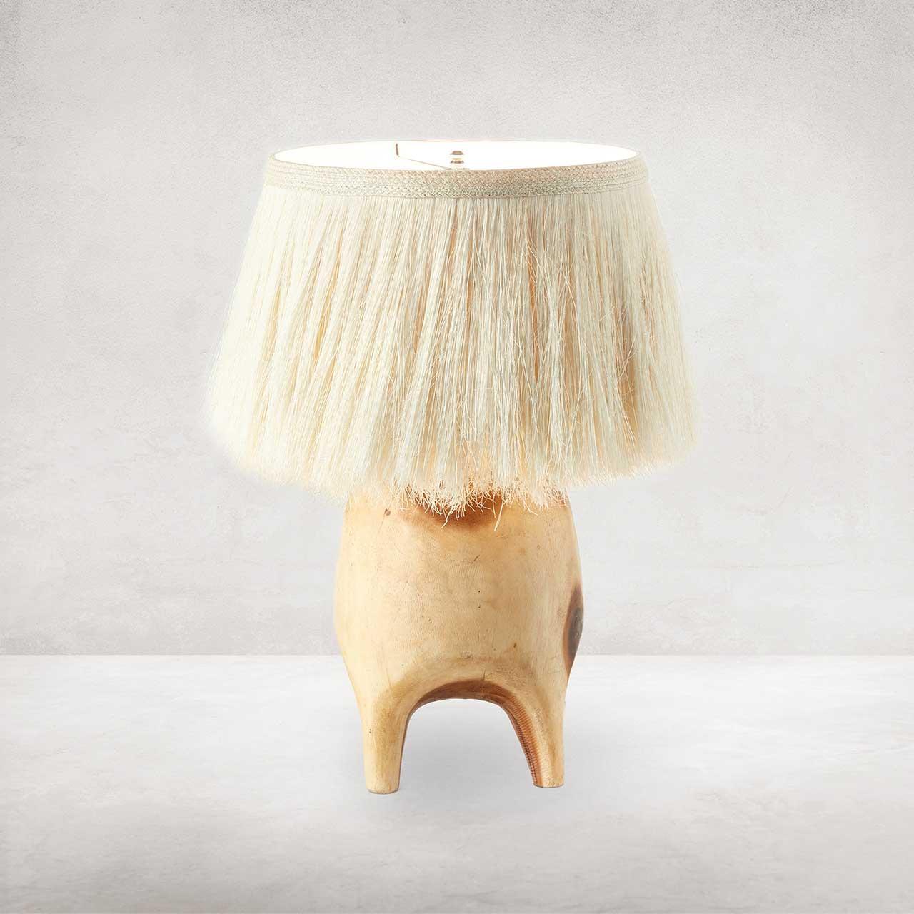 Apsara Table Lamp - Natural