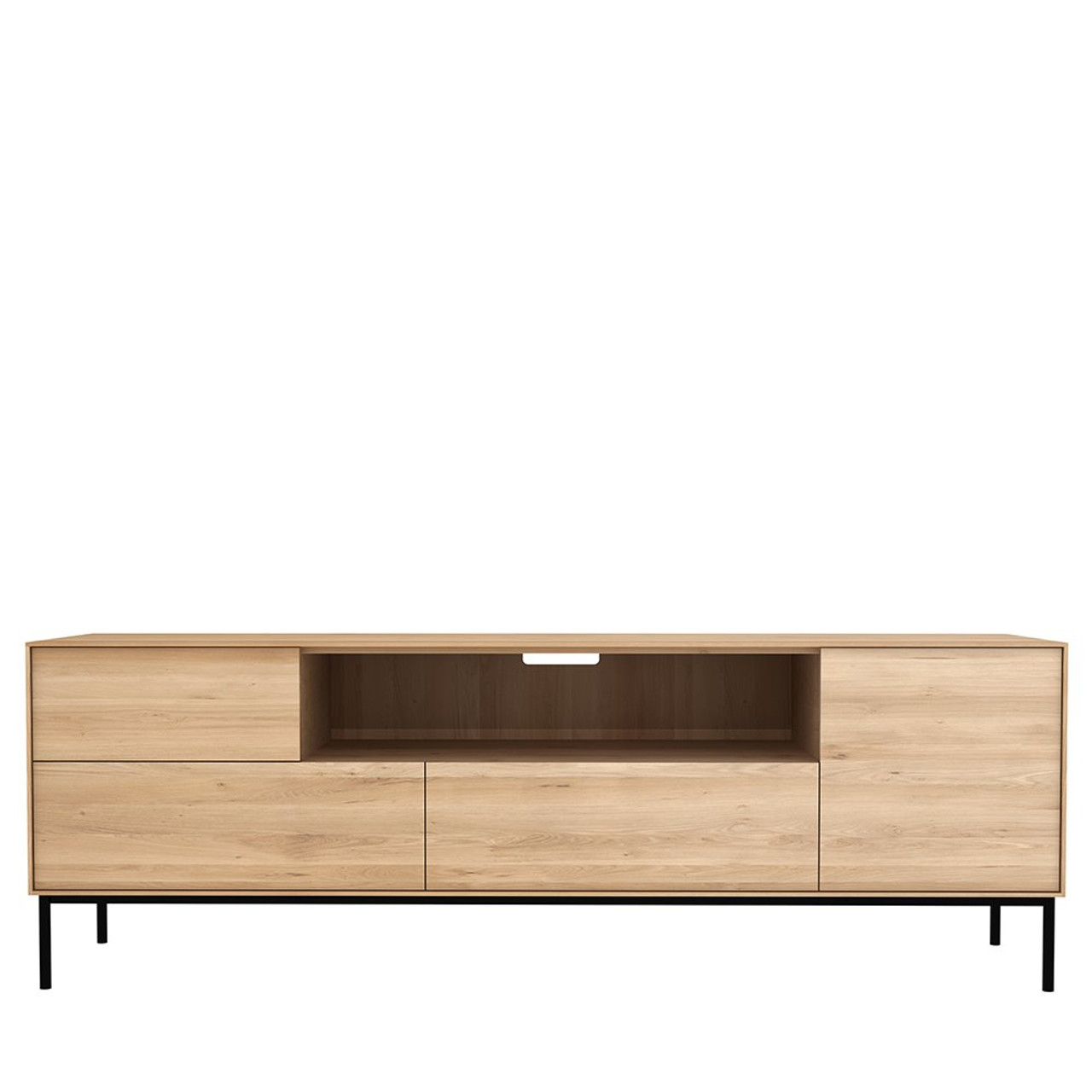 Light Oak Whitebird TV Stand Media Cabinet