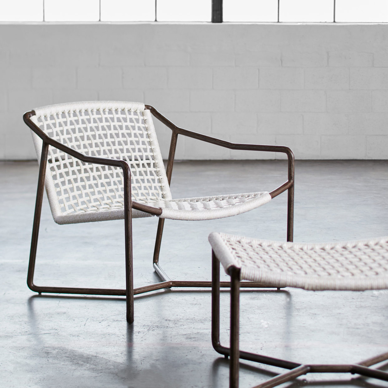 Manhattan Beach Outdoor Lounge Chair