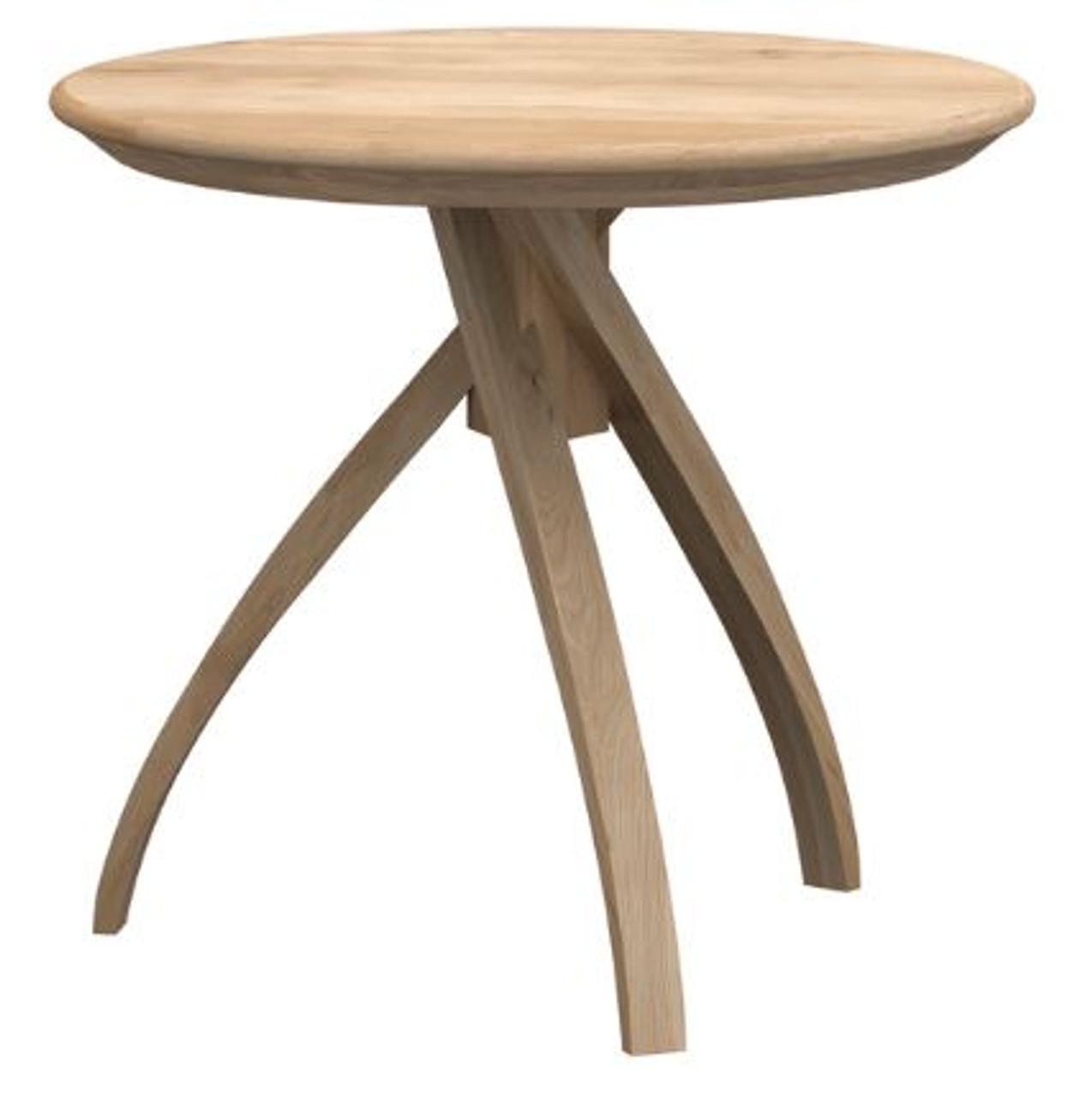 Curve Oak Side Table