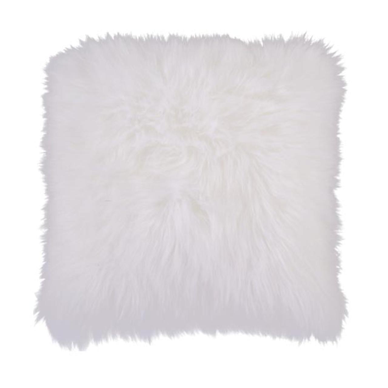 Cloud Park White Pillow