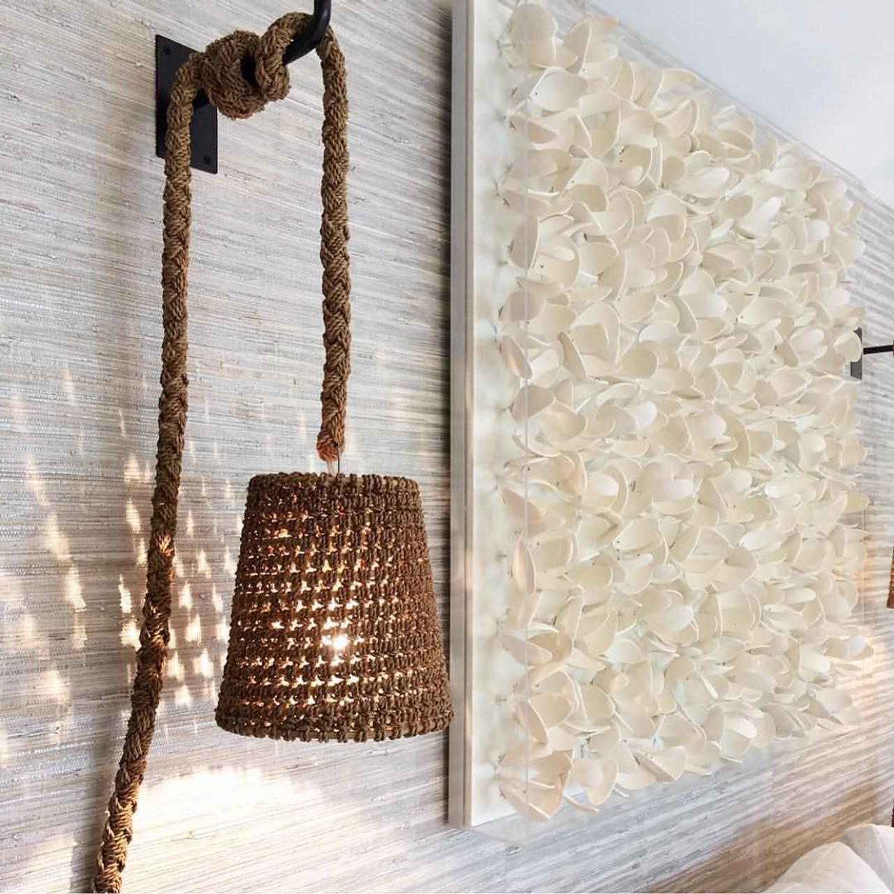 Sanoma Rope Wall Pendant - Natural