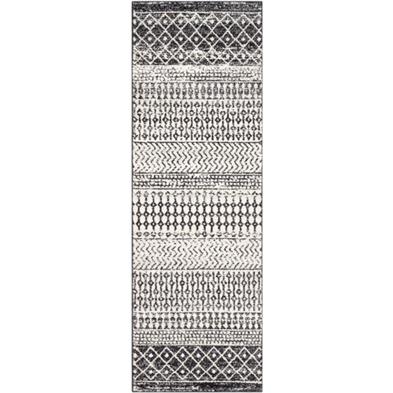 Black and White Calin Rug