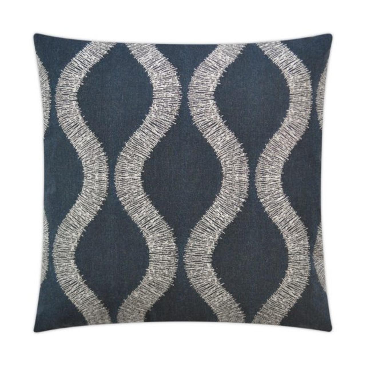 Overlock Indoor Outdoor Throw Pillow