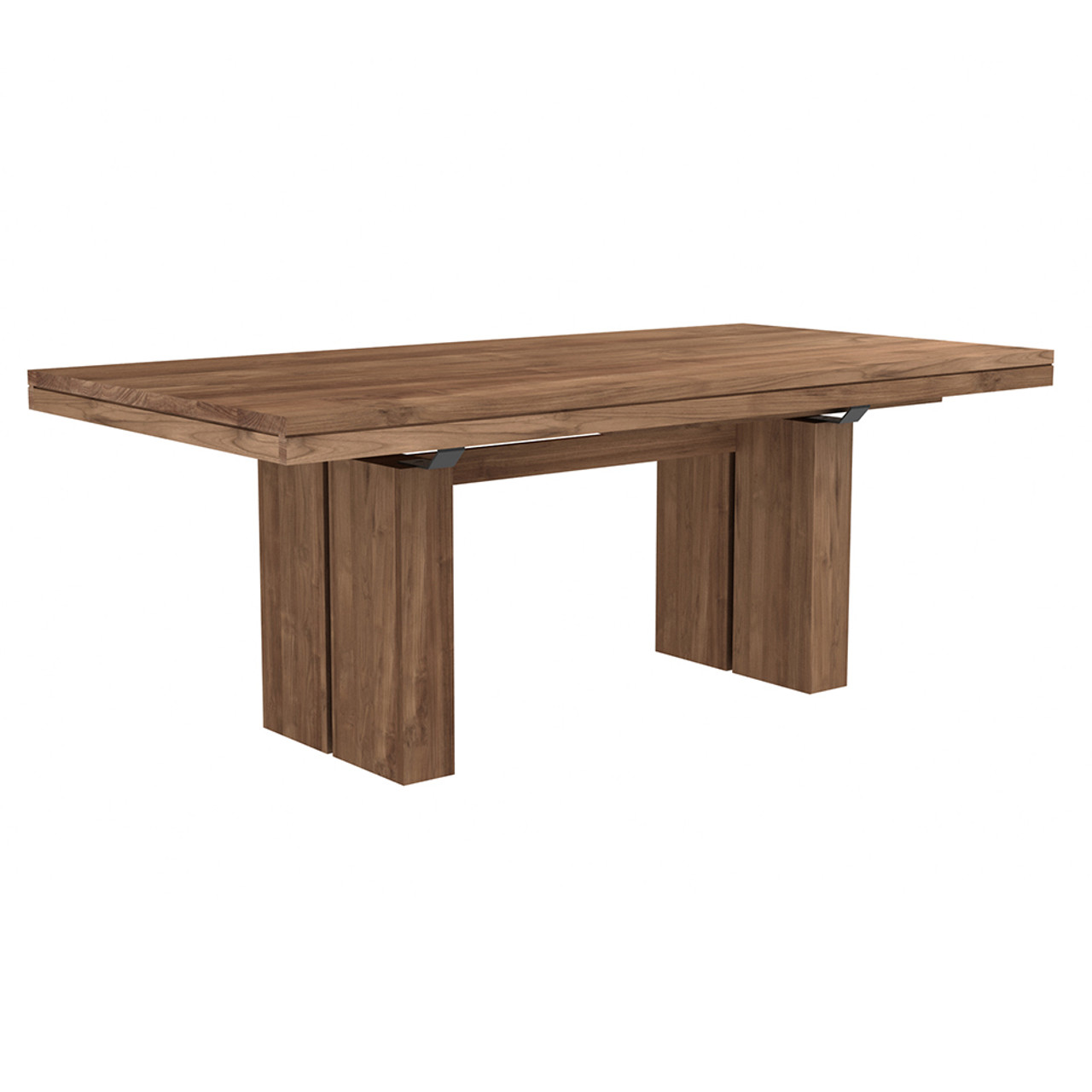 Flex Double Extension Dining Table -  Oak or Teak