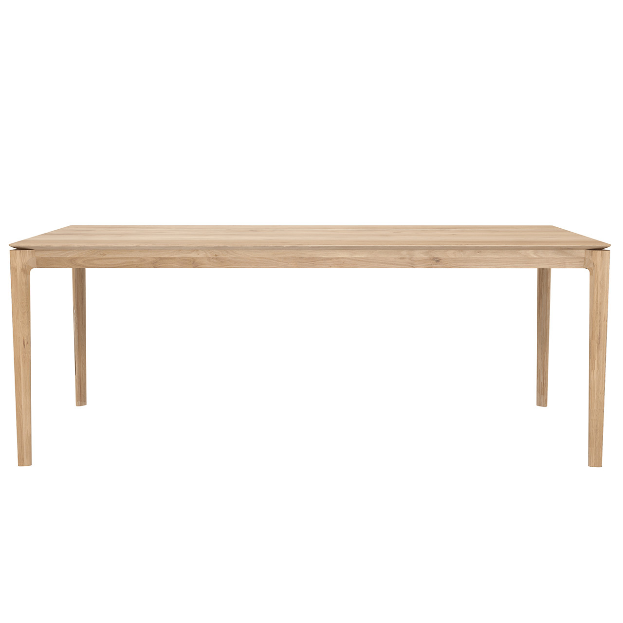 """Oak and Teak Bok Dining Table - 55"""" to 95"""""""