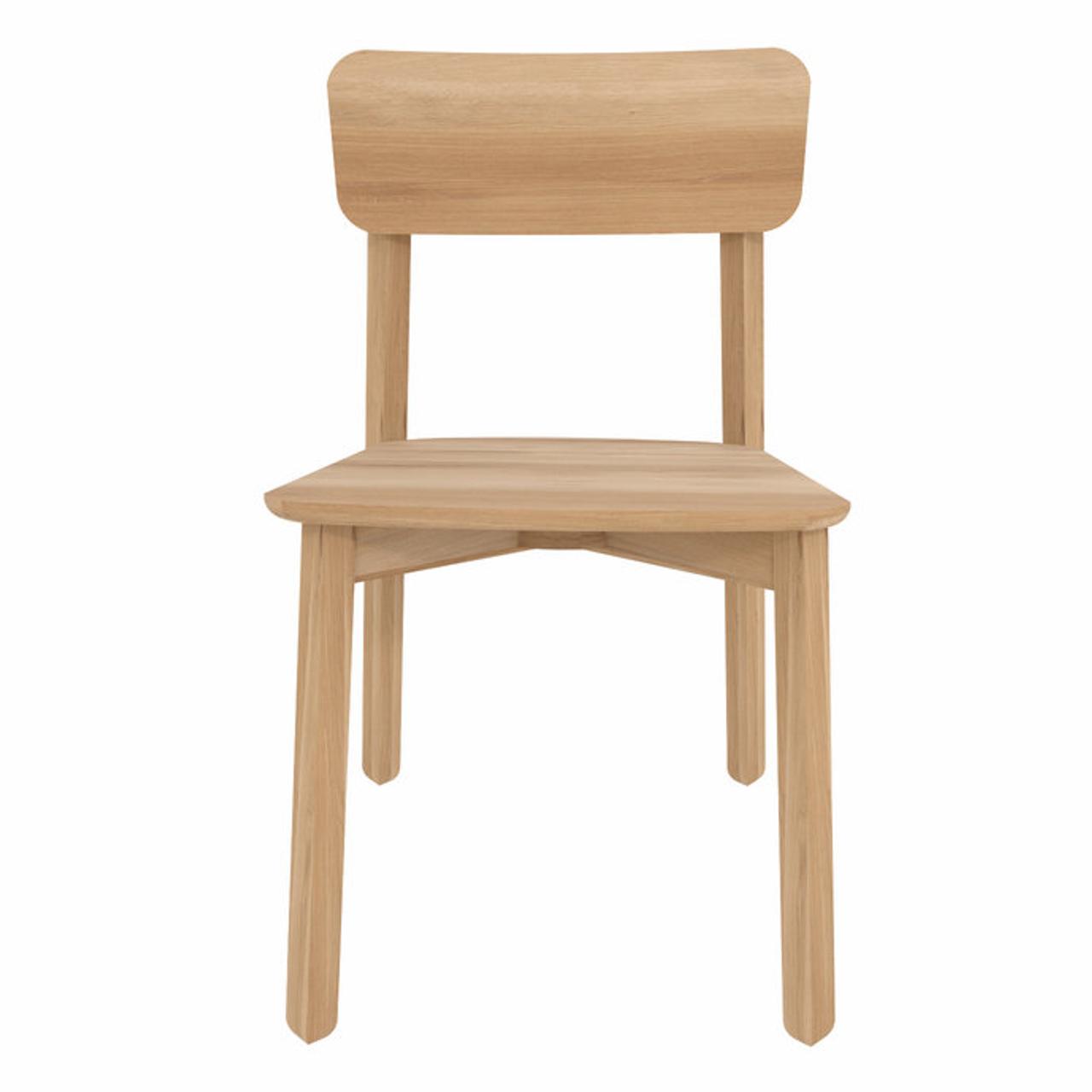 Oak Casale Modern Dining Chair