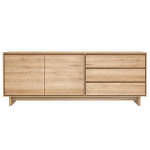 Glasgow Light Oak Sideboard