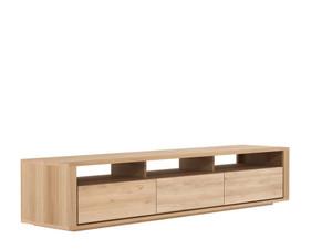 Oak Shadow TV Cupboard