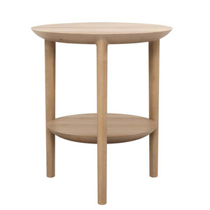 Float Oak Side Table