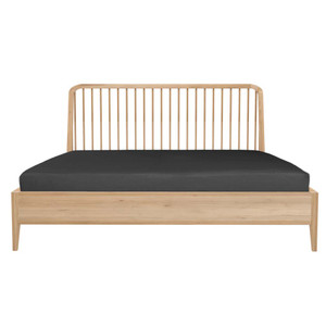 Oak Spindle Spartan Bed