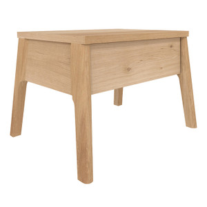 Oak Air Bedside Table Modern Nightstand