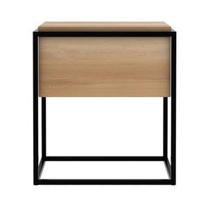 Oak Monolit Bedside Table Modern Nightstand