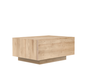 Oak Madra Bedside Table Modern Nightstand