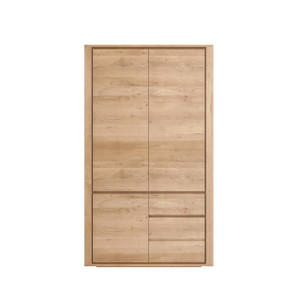 Oak Shadow Dresser - Tall