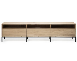 Oak Ligna TV Stand Media Cabinet