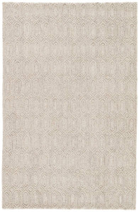 Asos Natural Geometric Wool Rug