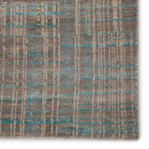 Unstring Teal Coral Rug Collection by Kavi