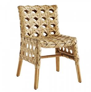 Flat Rattan Richmond Chair - Natural